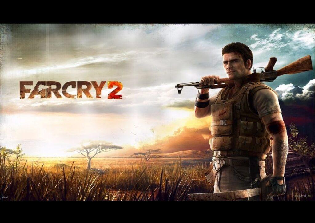 capa de jogo de FPS para PC fraco far cry 2