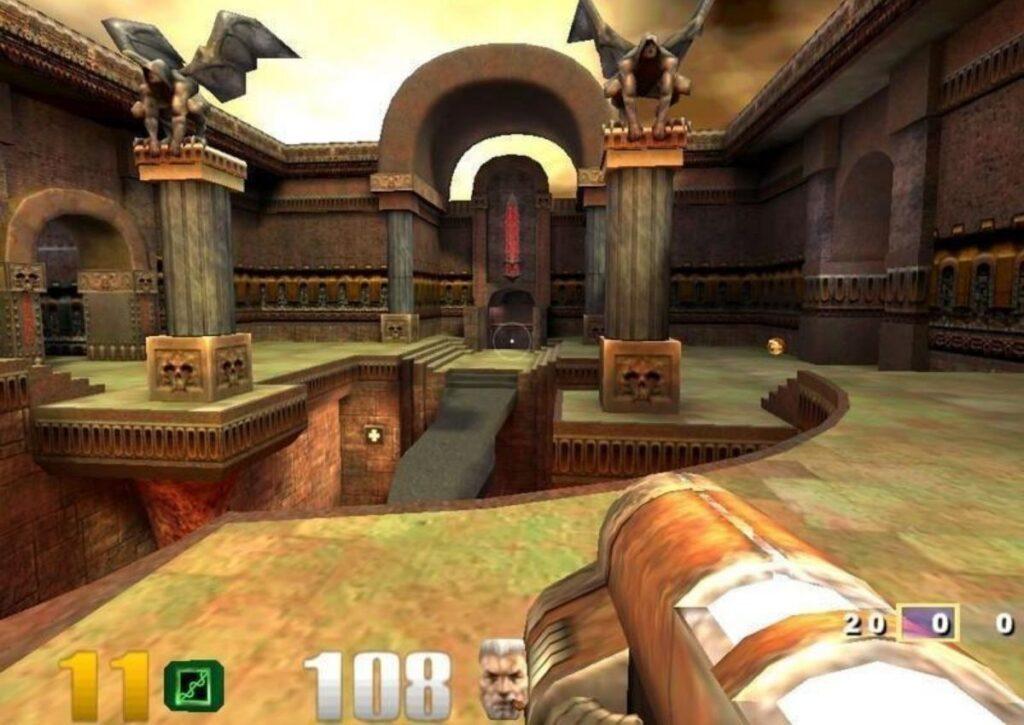 capa de jogo de FPS para PC fraco quake 3