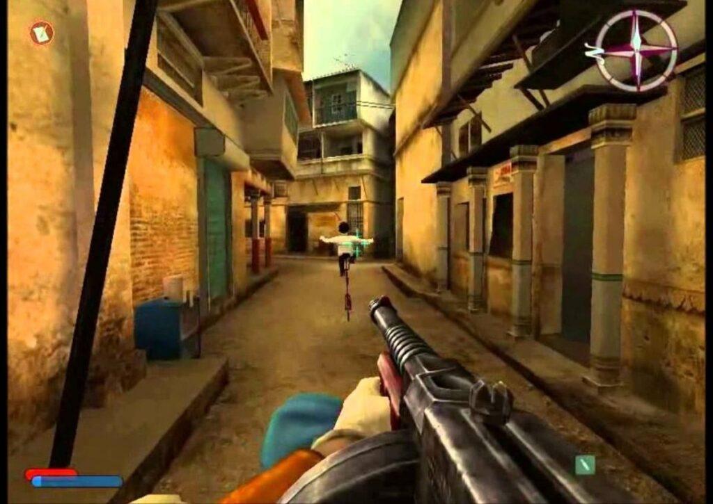 capa de jogo de FPS para PC fraco no one lives forever