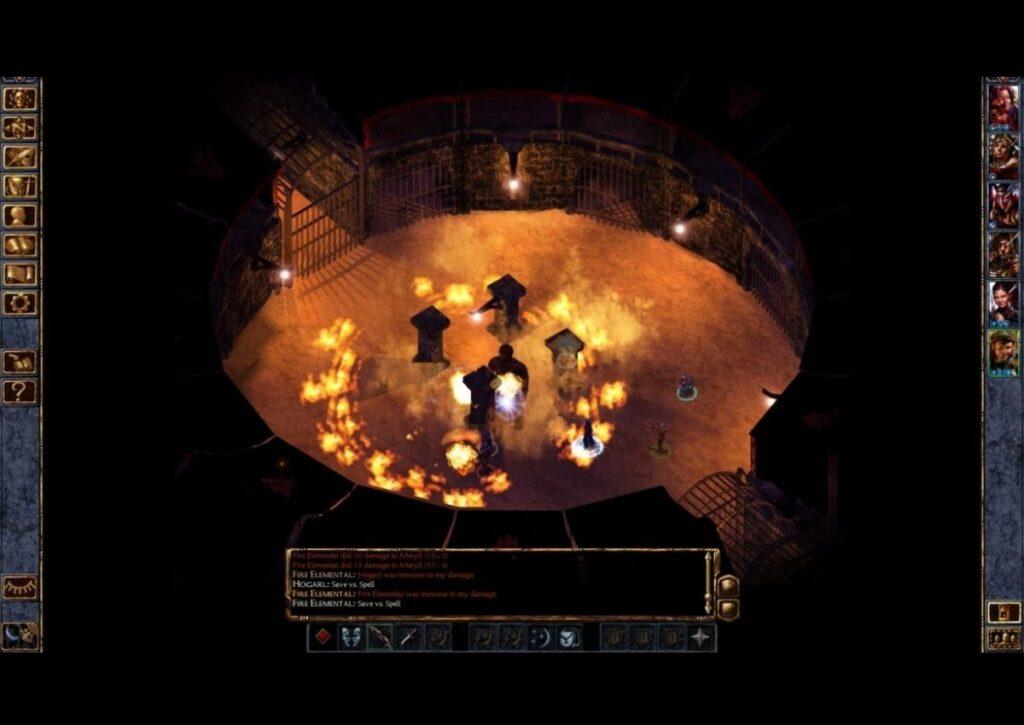capa do jogo de RPG para pc fraco baldrus gate