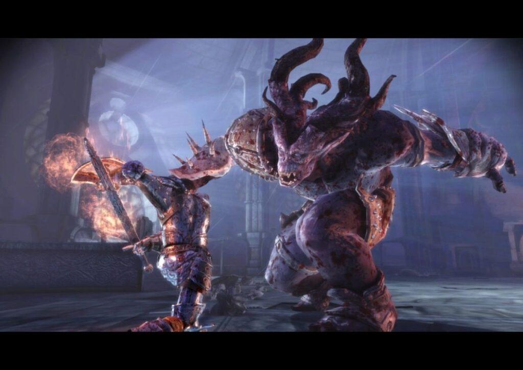 capa do jogo de RPG para pc fraco dragon age origins