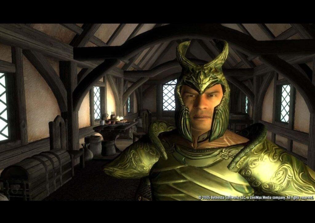 capa do jogo de RPG para pc fraco elder schrolls