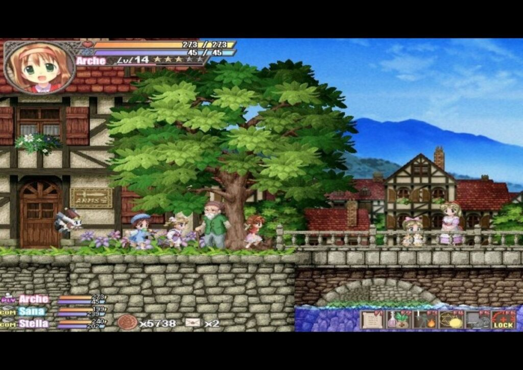 capa do jogo de RPG para pc fraco fortune summoners