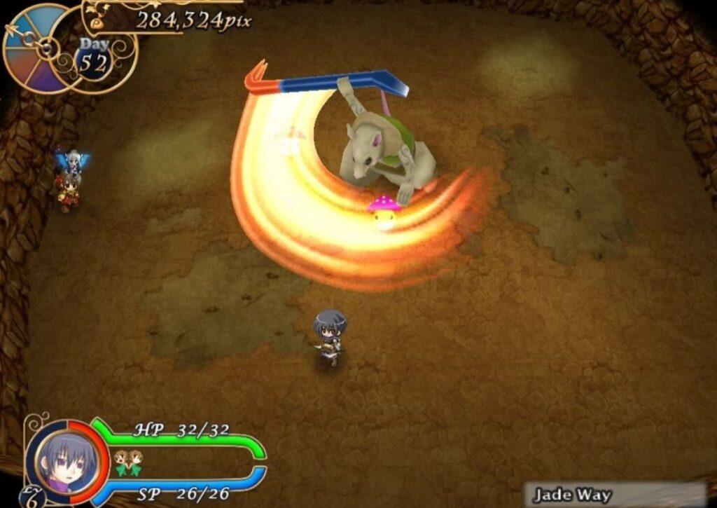 capa do jogo de RPG para pc fraco racettear