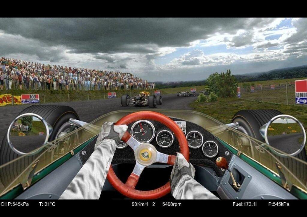 capa do jogo de corrida para pc fraco grand prix
