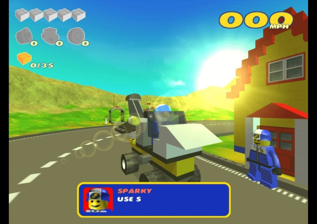 capa do jogo de corrida para pc fraco lego racers