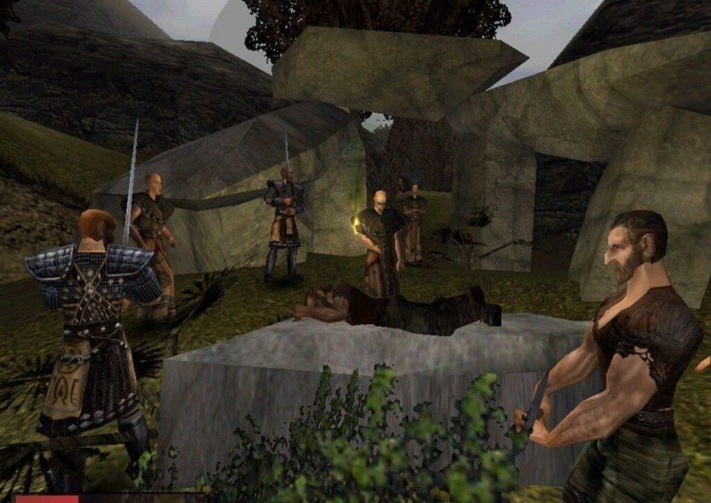 capa do jogo de mundo aberto para pc fraco gothic