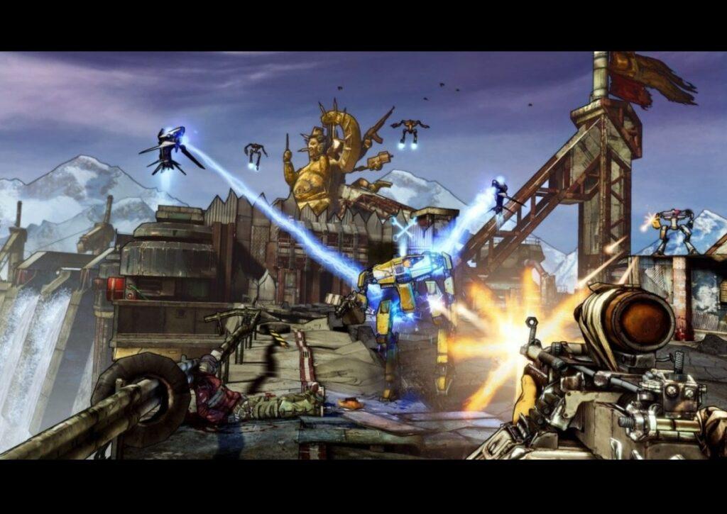 capa do jogo de tiro borderlands 2