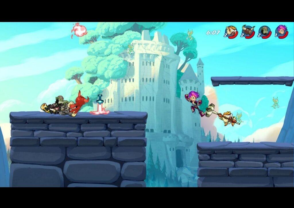 capa do jogo online para pc fraco brawlhalla