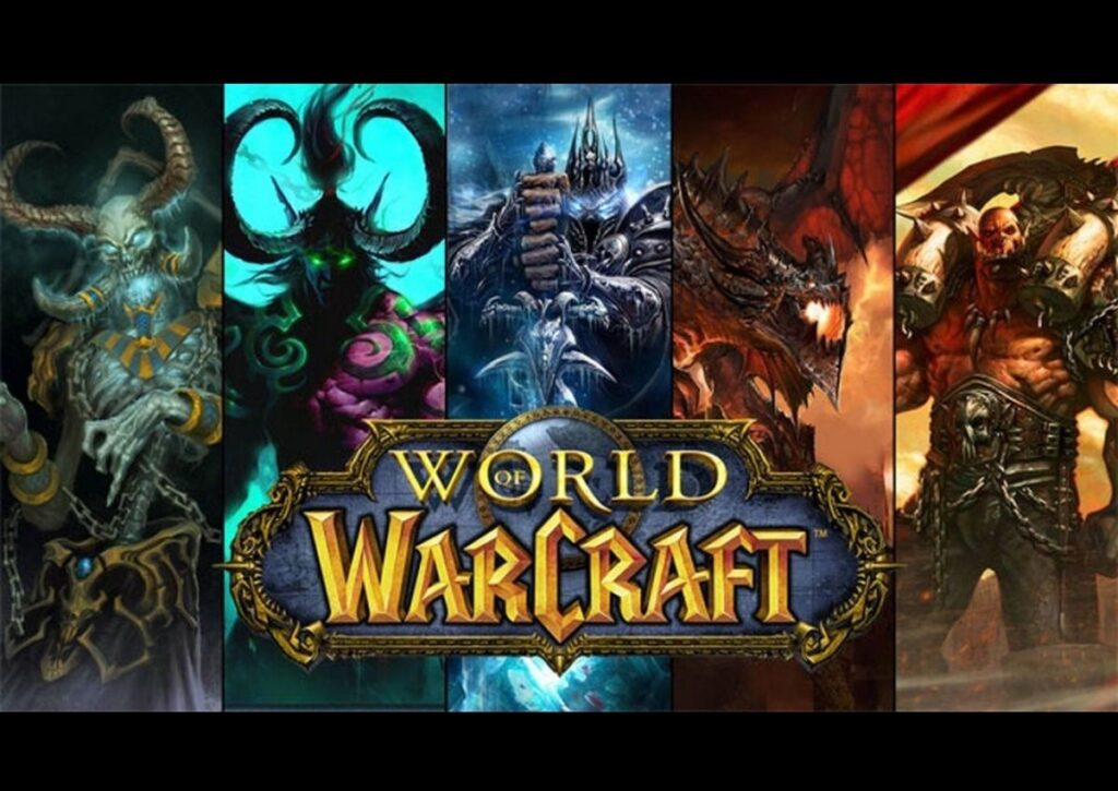 capa do jogo online para pc fraco world of warcraft