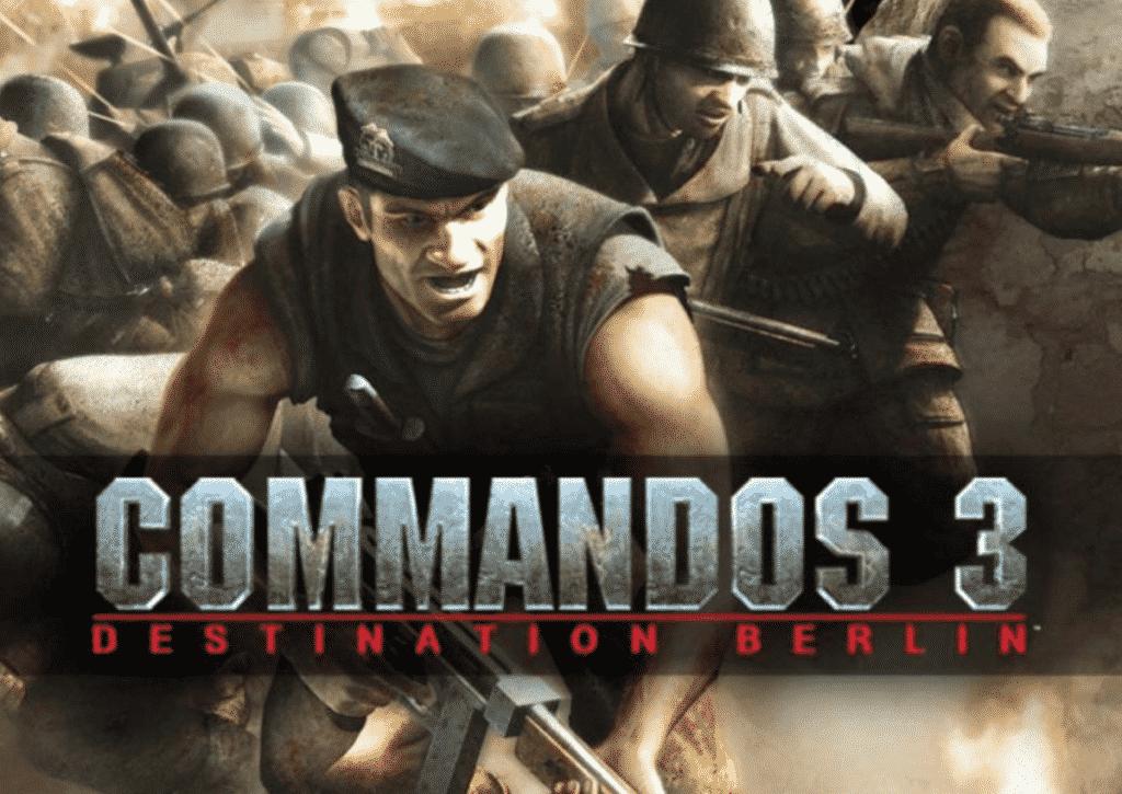 capa do jogo para pc fraco commandos 3