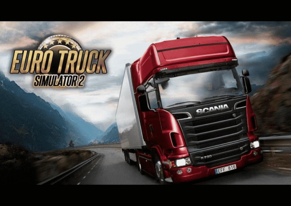 capa do jogo para pc fraco euro truck simulator