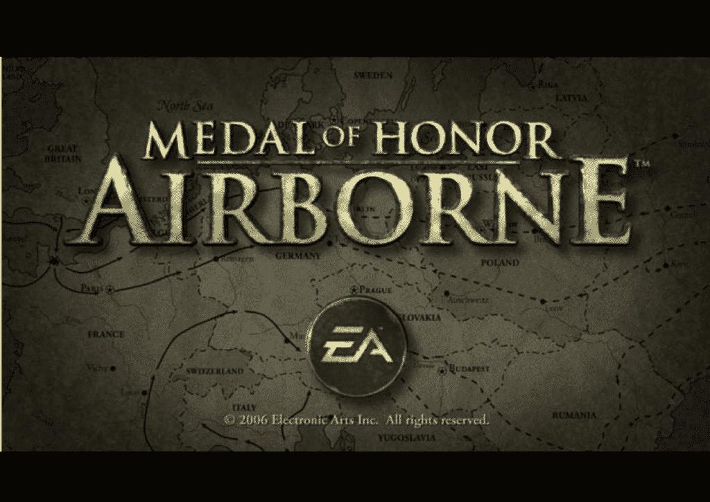 capa do jogo para pc fraco medal of honor airbone