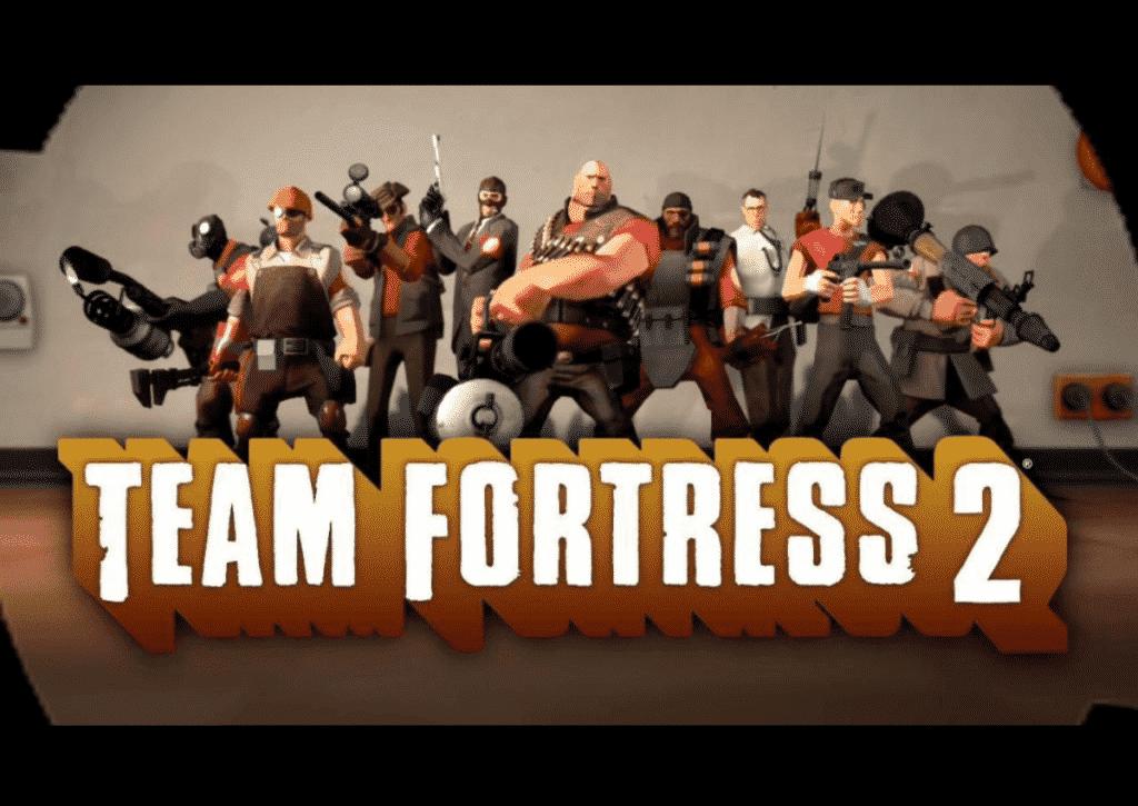 capa do jogo para pc fraco team fortress