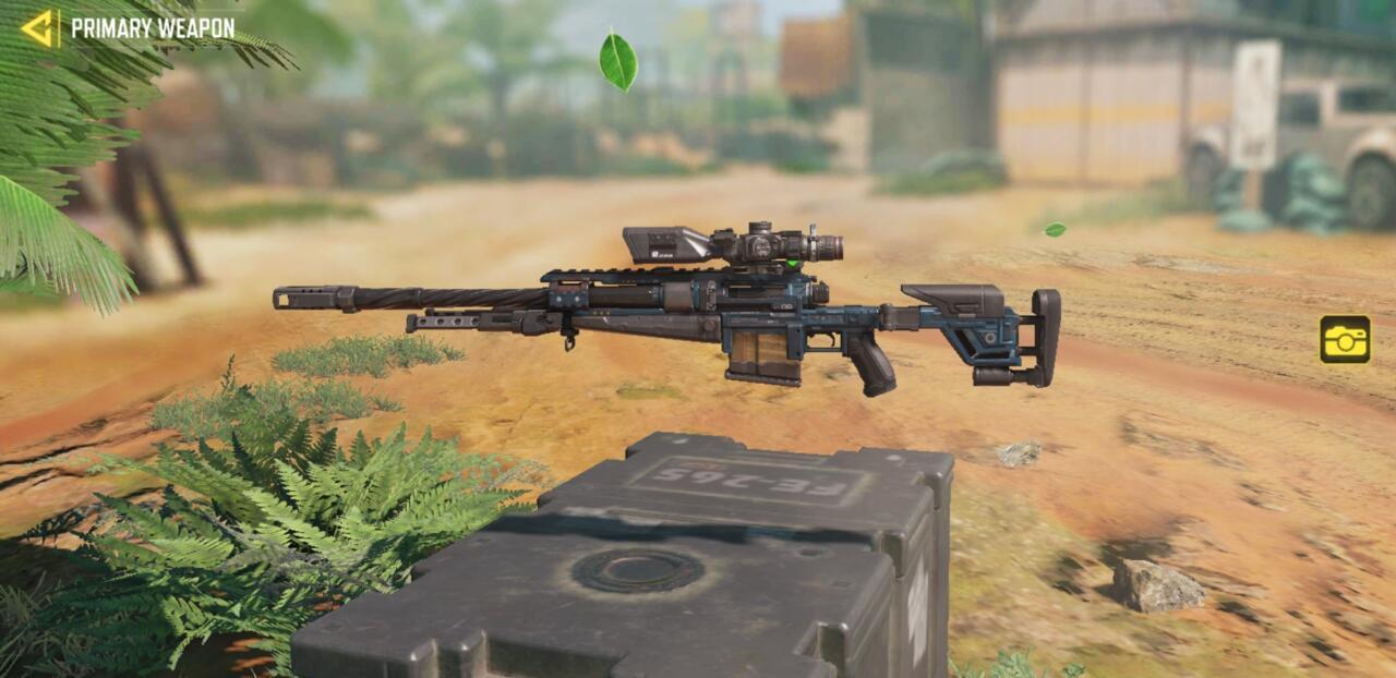 Rifle de atirador Locus