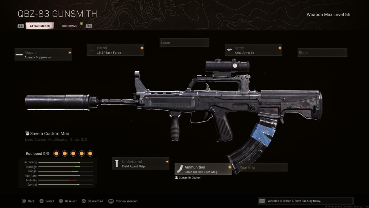 Rifle de assalto QBZ-83