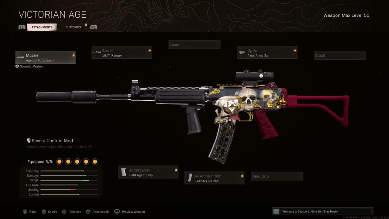 Rifle de assalto Krig-6