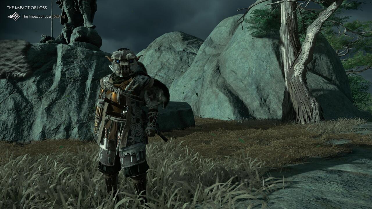 A Armadura do Colosso é um cosmético aplicado à armadura Ghost.