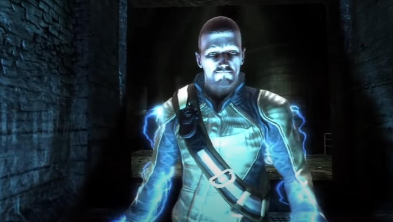 A versão PS3 de Cole não parece tão boa quanto Ghost of Tsushima no PS5, mas essa é a idéia.
