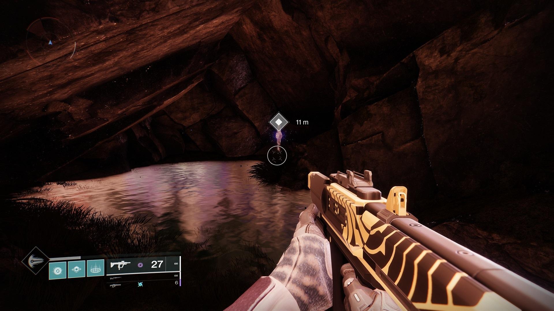 Você encontrará o Atlas Skew dentro, mas você pode ter que lutar contra alguns inimigos para chegar até ele.