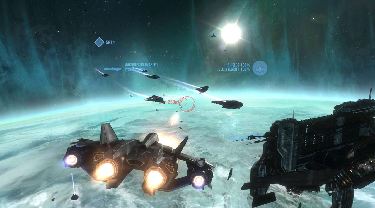 Halo: Reach vai para os céus