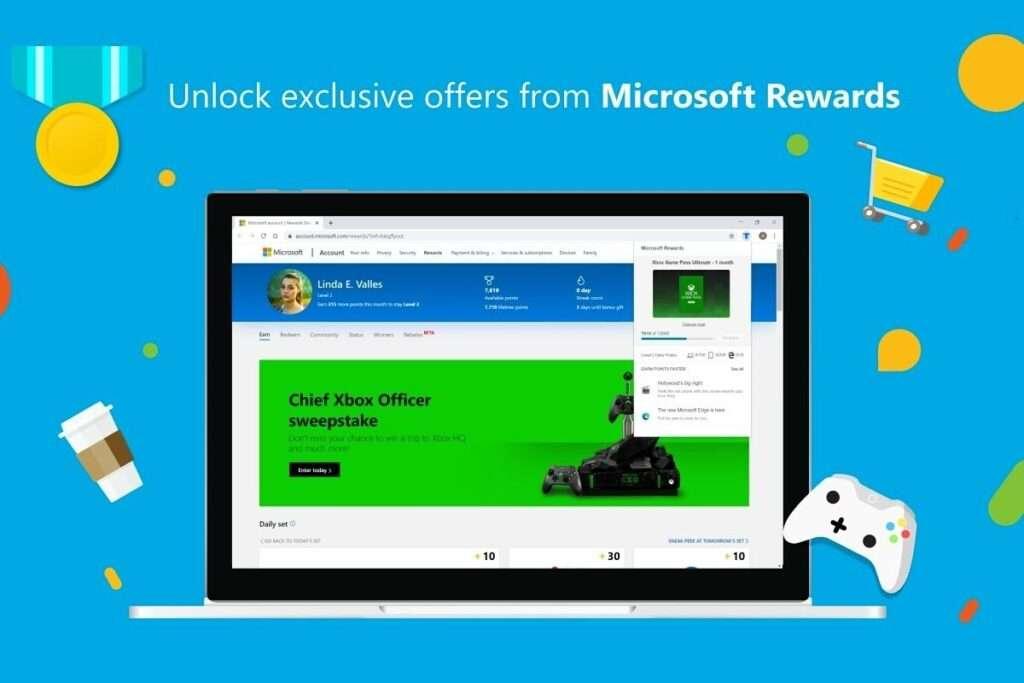 3. Microsoft Rewards (Xbox)