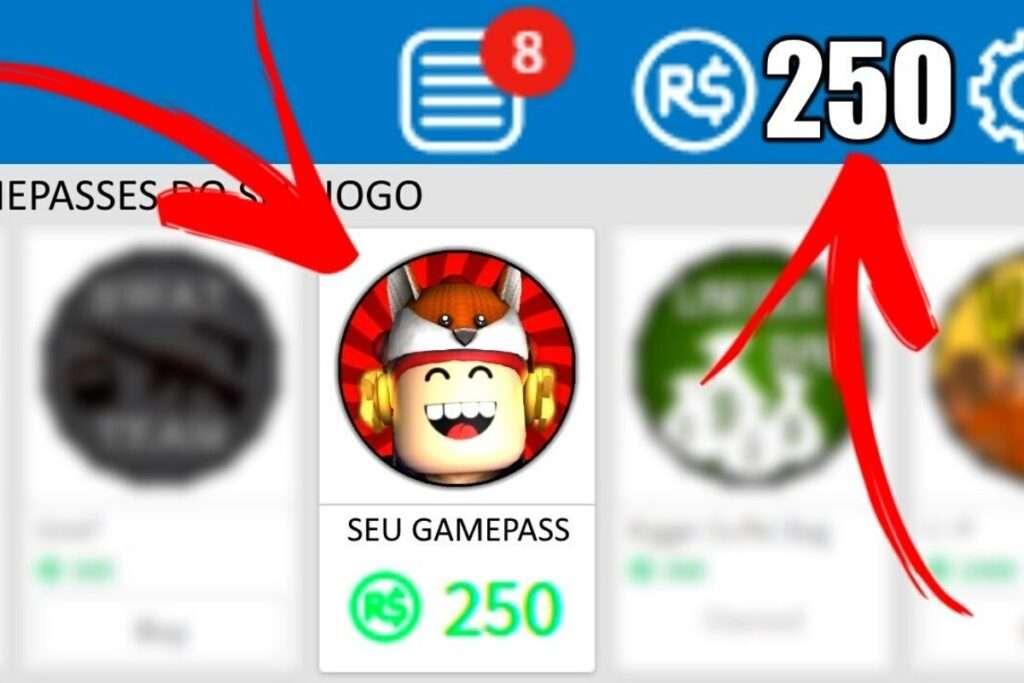 7. Vender passes e acesso para jogos