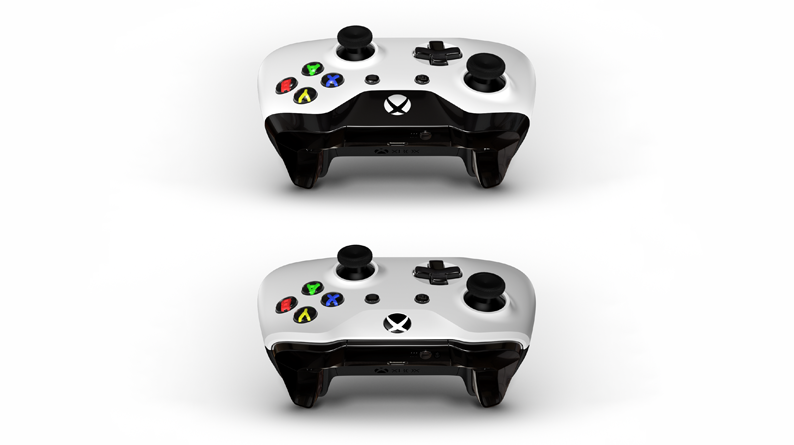 Os controladores com design na parte superior NÃO têm Bluetooth, enquanto aqueles com design na parte inferior têm.