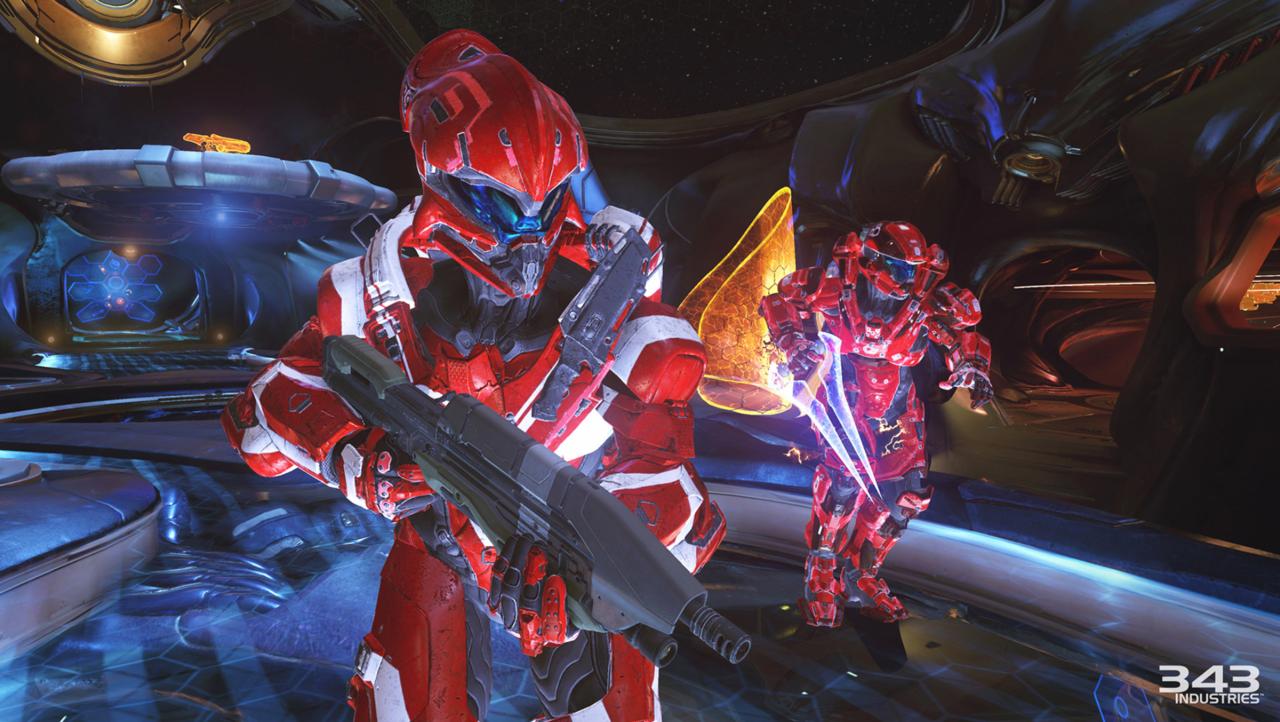 Halo 5 de 2015 é a última entrada na série principal