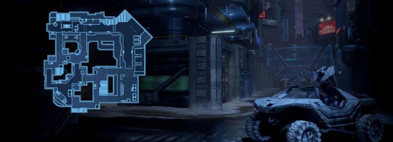Halo 2's Turf está chegando ao Halo 3 como uma caixa de gelo