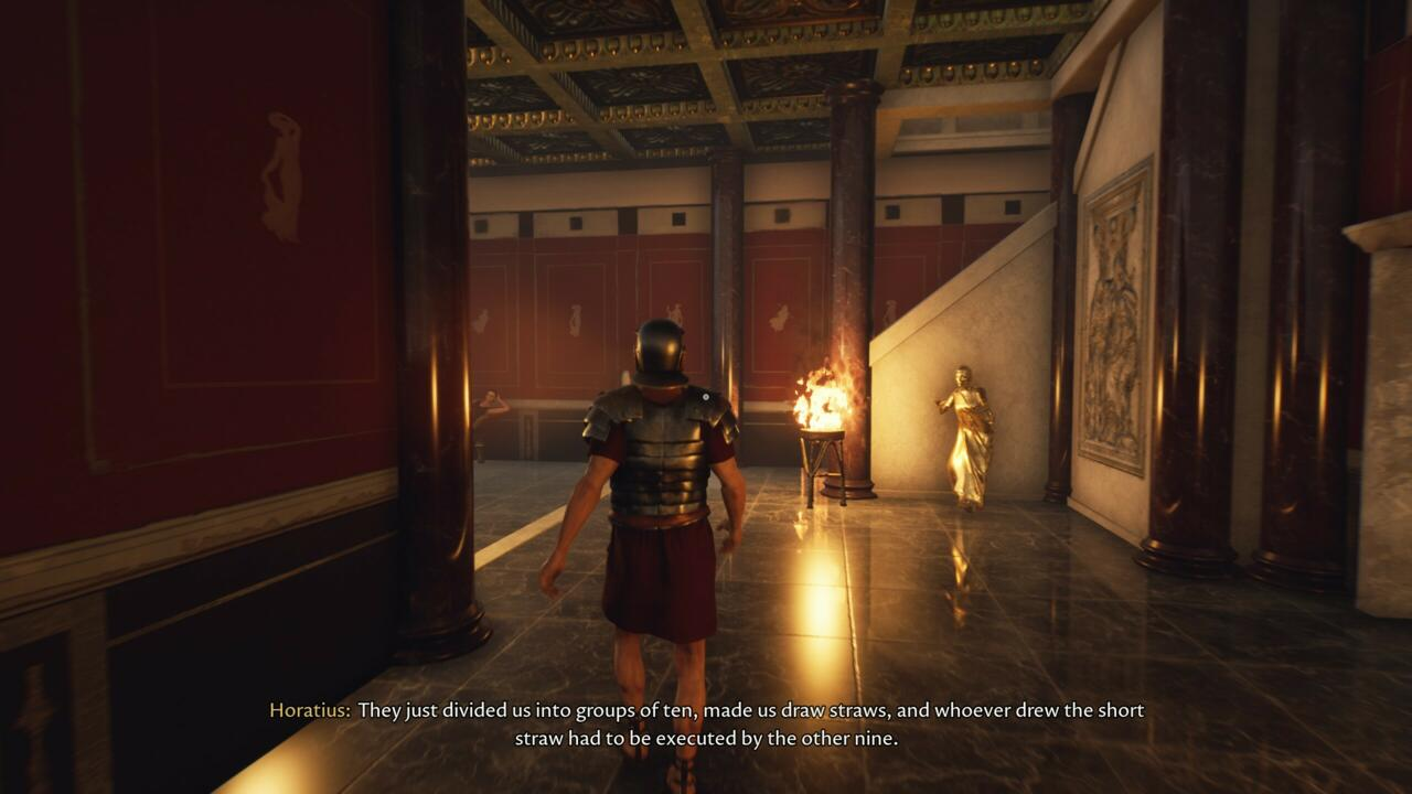 Ao longo de sua aventura, você encontrará muitos personagens que explicam a estranha história do cenário.