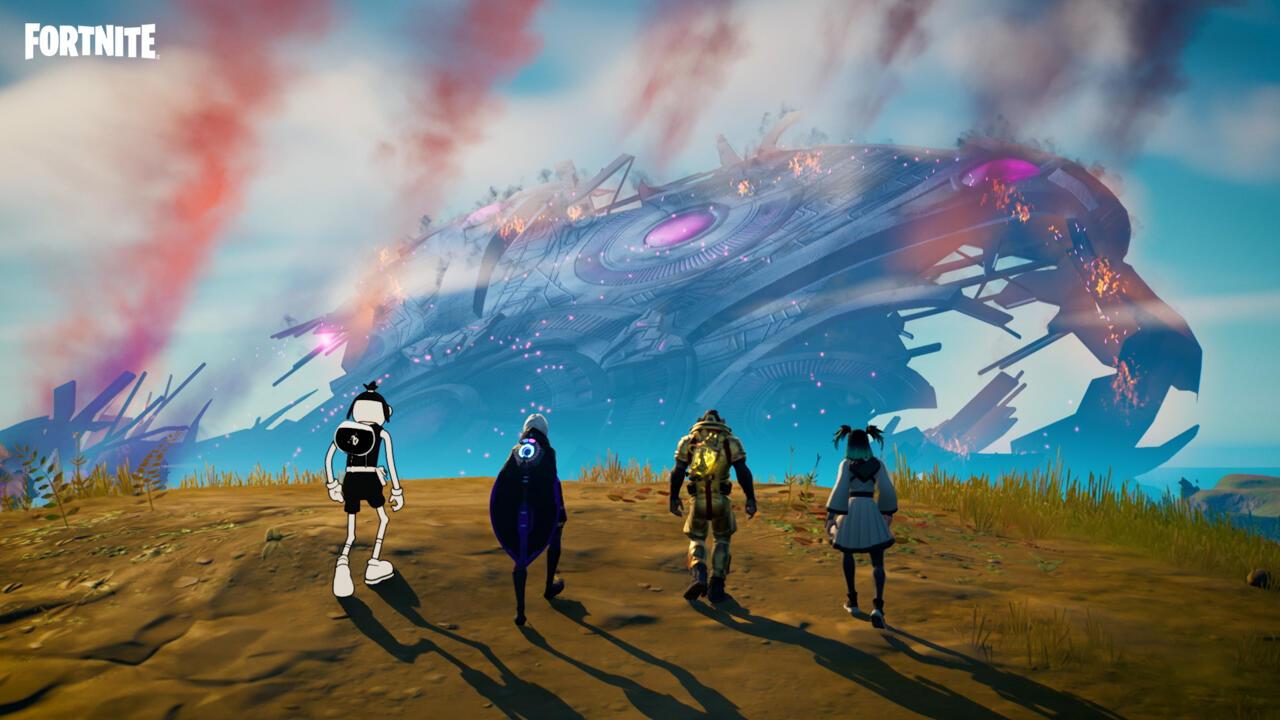 Os novos heróis da 8ª temporada de Fortnite enfrentarão a ilha mais devastada pela guerra até hoje.