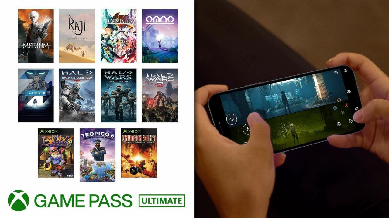 Mais 11 títulos de Game Pass agora são compatíveis com controles de toque