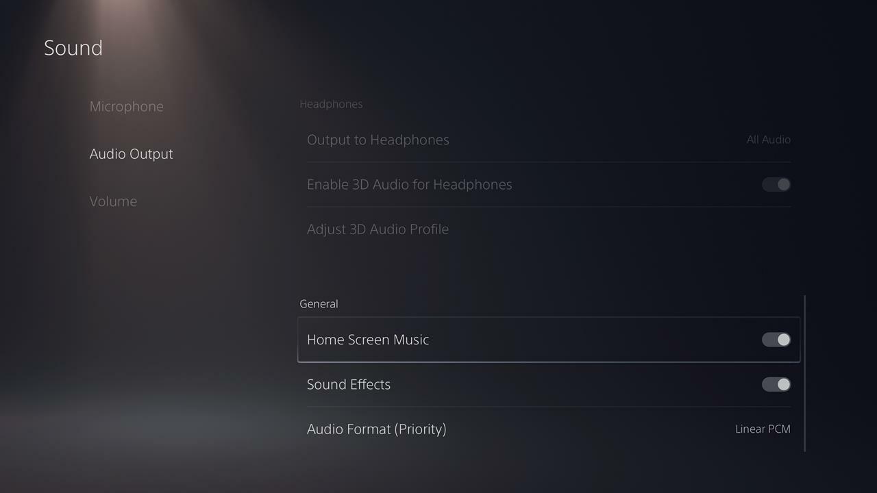 Como desligar a música de fundo e os efeitos sonoros no PS5