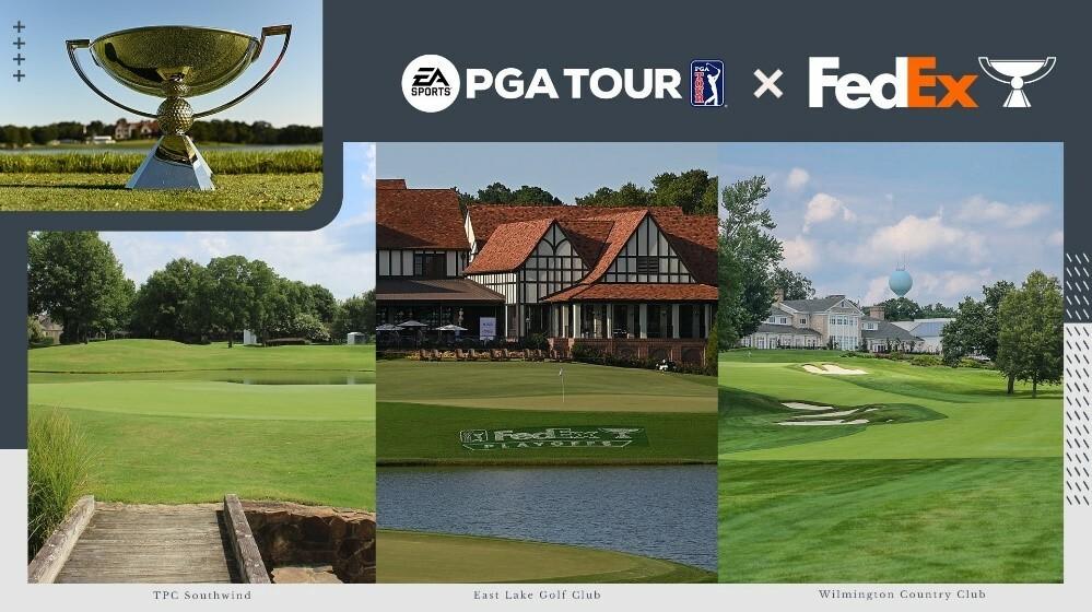 O FedExCup chega ao EA Sports PGA Tour