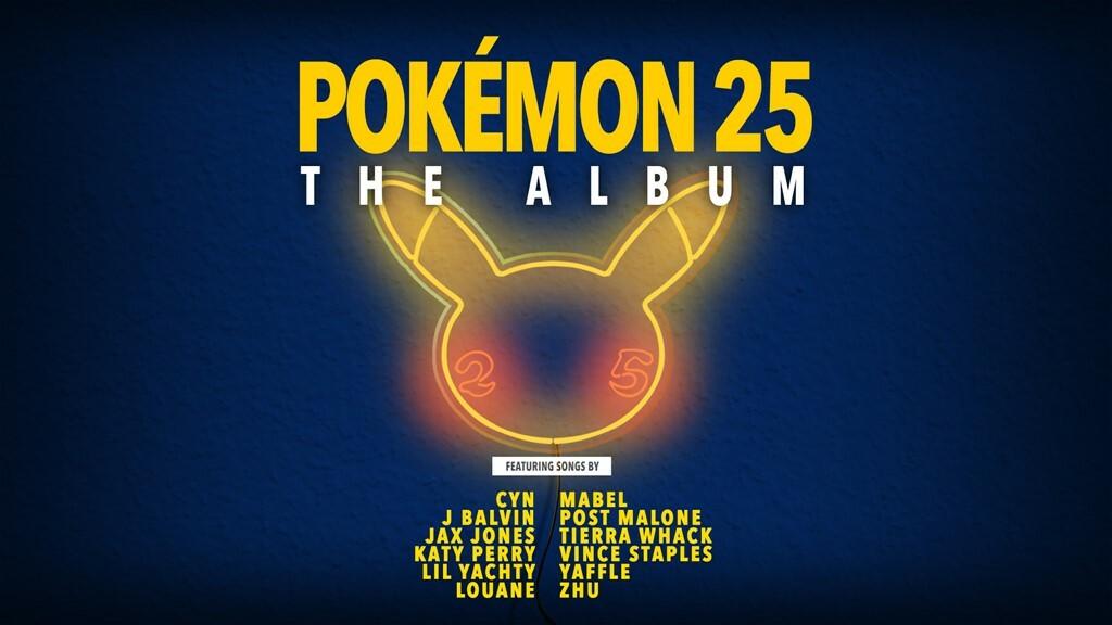 Pokémon 25: o álbum é lançado em outubro