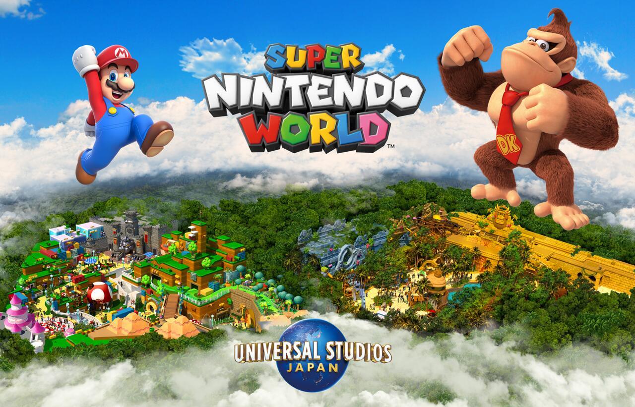 O Super Nintendo World deve crescer muito em 2024 com a terra DK