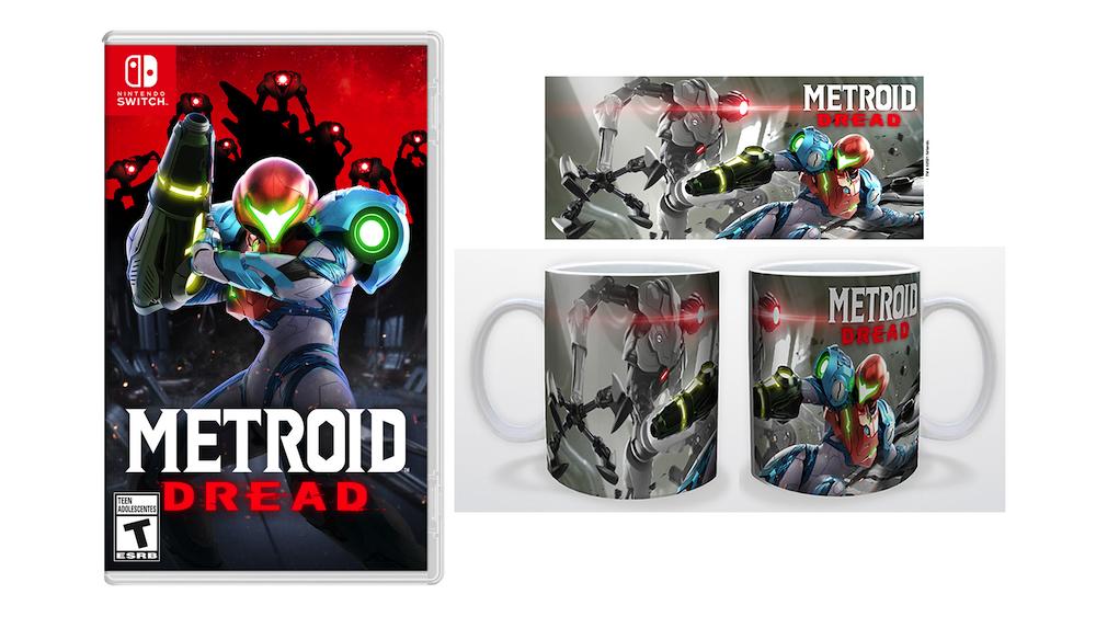 Metroid Dread + canecas GRATUITAS (não realmente gratuitas)