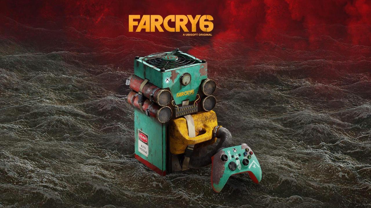 Eis o Xbox Series X com o tema Far Cry