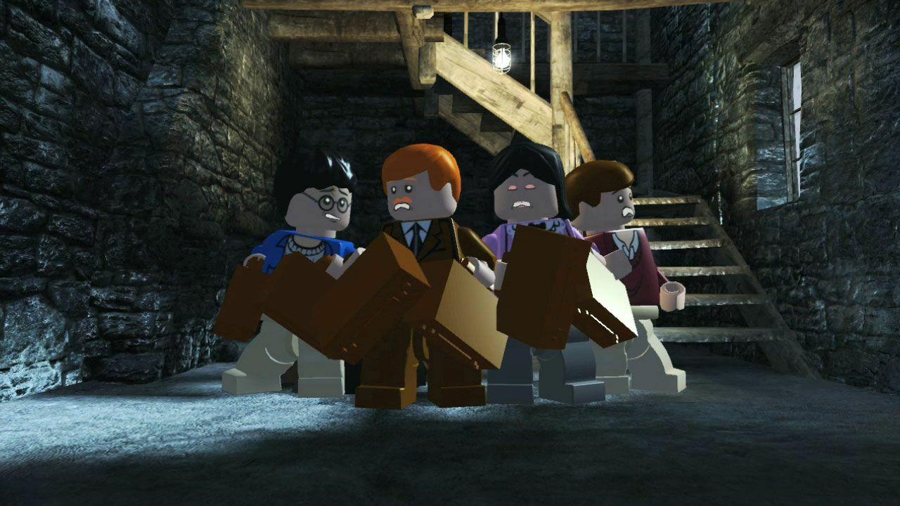 Lego Harry Potter, anos 1-4