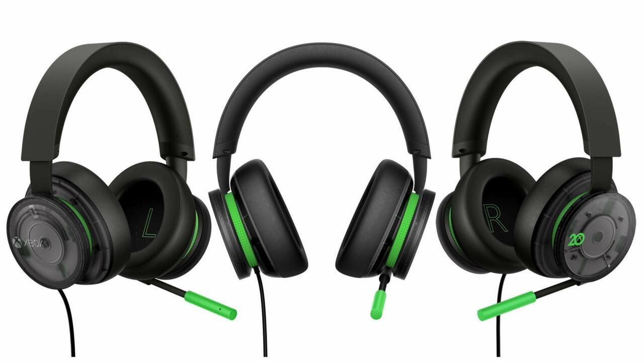 O novo fone de ouvido Xbox