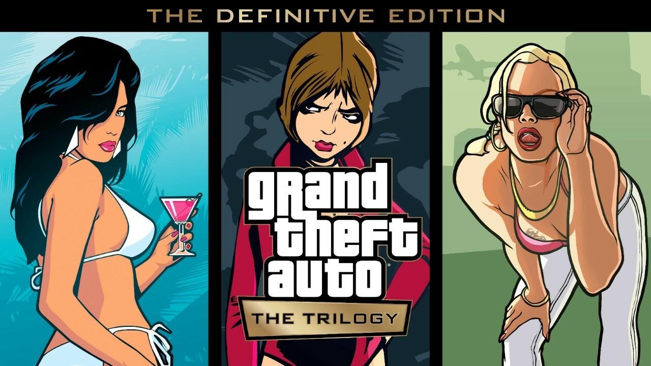 GTA The Trilogy: Definitive Edition chega este ano