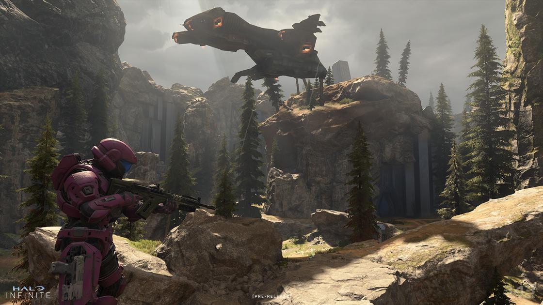 O mapa de fragmentação de Halo Infinite traz de volta memórias de Valhalla