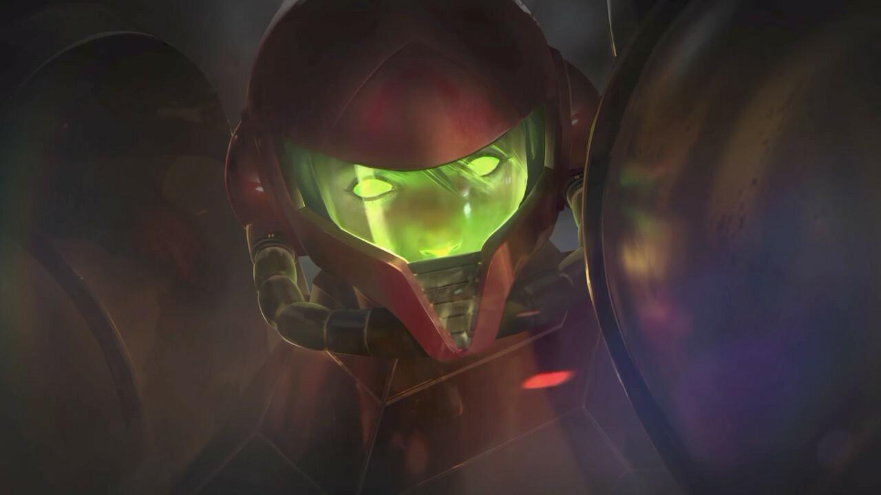 Lembra como foi horrível ver os olhos mortos do SA-X pela primeira vez?  Arrepiante.