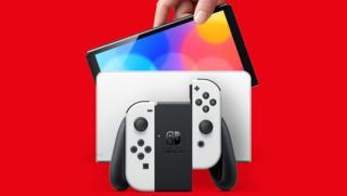 O modelo Switch OLED é lançado em 8 de outubro